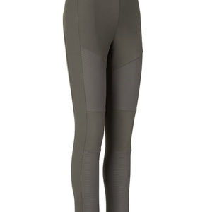 Athleta Madison Moto Tight Color Olive Army Green